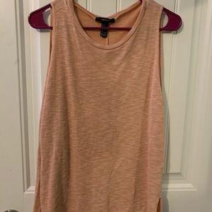 Forever21 Light Pink / Orange Top